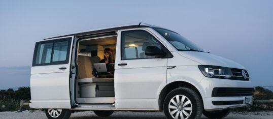 Teletrabalho sobre Rodas: Trocar o Escritório por uma Autocaravana