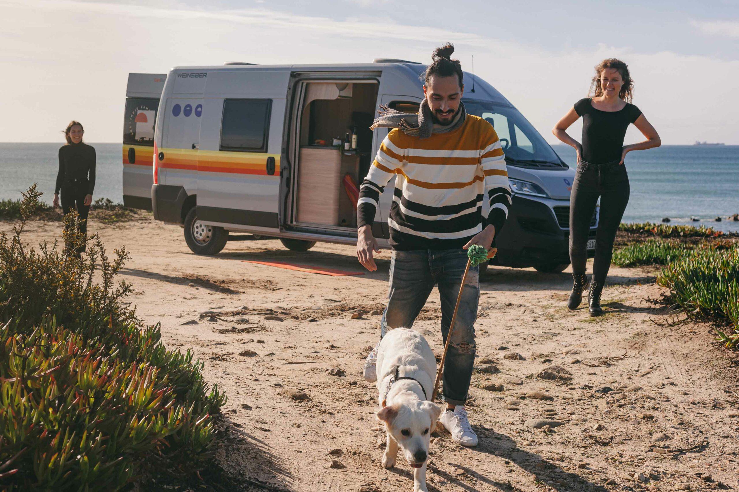 3 praktische Tipps fürs Wohnmobil mieten mit Hund