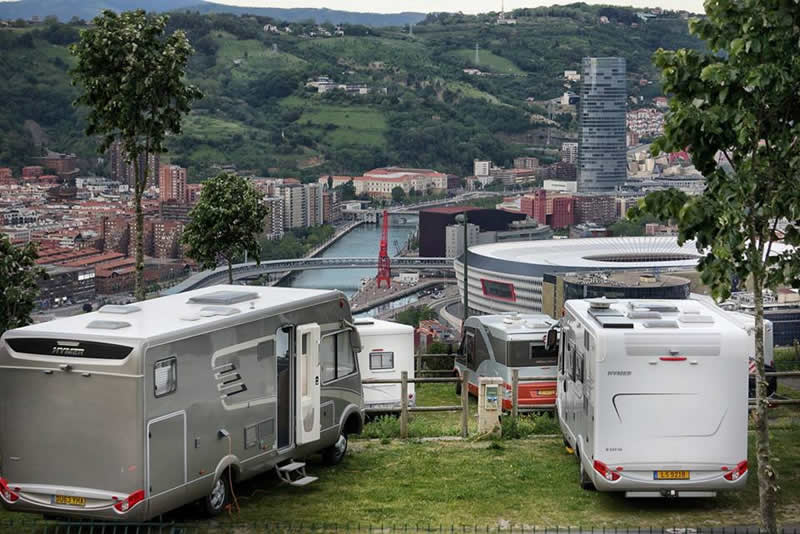 parking autocaravanas bilbao