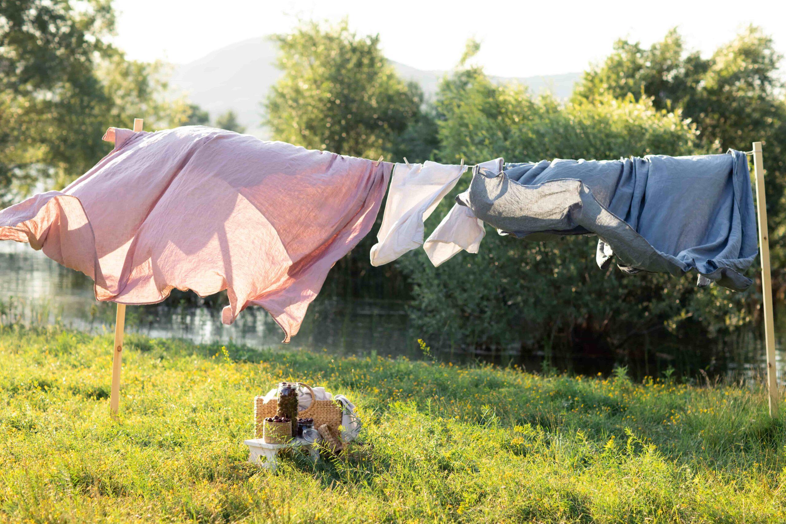 Lavar la ropa mientras estás de viaje con autocaravana