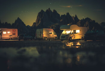 Different types of motorhomes