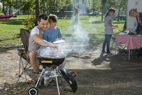 Why use a camping barbecue?